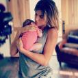 Elisabetta Canalis et sa fille Skyler Eva - octobre 2015.