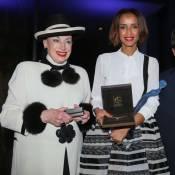 Sonia Rolland femme de l'année, devant Geneviève de Fontenay et Bernard Montiel