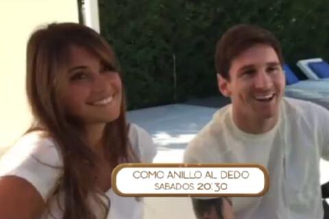 Lionel Messi et sa belle Antonella: Rires et confessions pour leur première télé