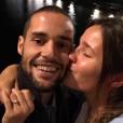 Malena Costa annonce ses fiançailles avec Mario Suarez à Florence - octobre 2015.
