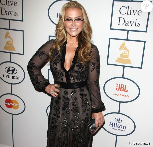 Anastacia - 56 eme Soiree pre-Grammy and Salute To Industry Icons au Beverly Hilton Hotel de Beverly Hills le 25 janvier 2014