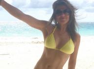 Elizabeth Hurley, 50 ans : En bikini, la bombe exhibe son corps parfait...
