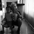 Blac Chyna et son fils King Cairo, 3 ans. Photo publiée le 13 octobre 2015.