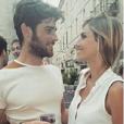 Alexandra Rosenfeld et son beau brun. Début octobre 2015.