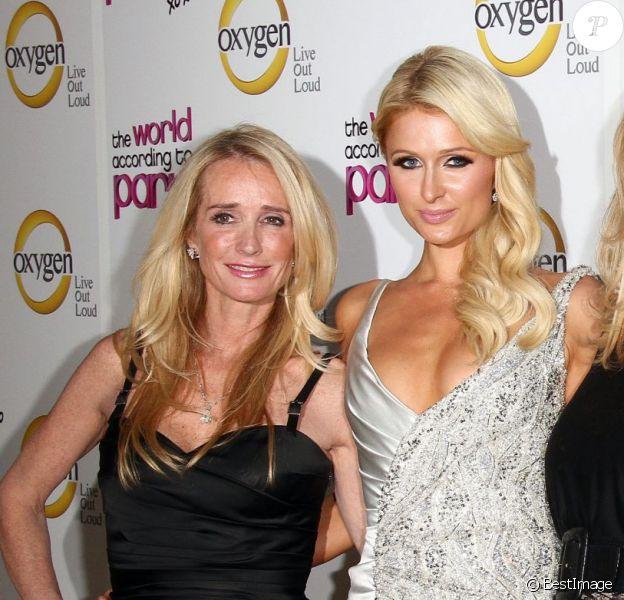 Kim Richards, Paris Hilton, Kathy Hilton, Kyle Richards à la soirée The world according to Paris, le 17 mai 2011 à Hollywood