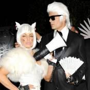Fergie et Josh Duhamel dans la peau de Karl Lagerfeld et Choupette !