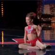 Ophélie, dans  Incroyable Talent  saison 10 (épisode 3), le mardi 3 novembre 2015 sur M6.