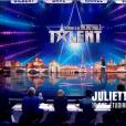 Juliette et son chien Charlie, dans  Incroyable Talent  saison 10 (épisode 3), le mardi 3 novembre 2015 sur M6.