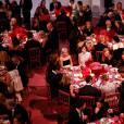 Dîner de bienfaisance lors du gala international Guggenheim présenté par Christian Dior au musée Solomon R. Guggenheim. New York, le 5 novembre 2015.