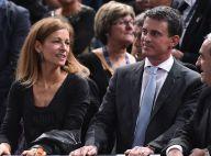 Manuel Valls et Anne Gravoin : Supporters complices face au grand Novak Djokovic