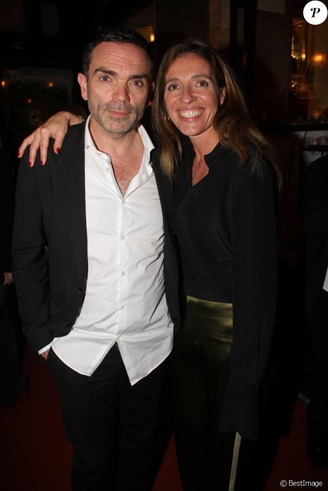 Yann moix et une invit e lors de la remise du prix de flore au caf flore paris le 10 - Raphael de casabianca et sa femme ...