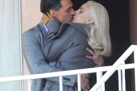 Lady Gaga surprise en plein baiser... C'est Taylor Kinney qui va être content !