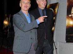 REPORTAGE PHOTOS : Quand le tordant Bill Murray fait le mariole devant la famille de Tim Robbins...