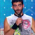 Nico Pires, dans  Incroyable Talent 2015  sur M6 (épisode du mardi 17 novembre 2015).
