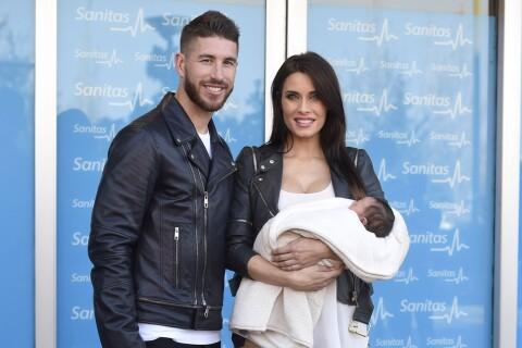 Sergio Ramos : Papa comblé, il présente avec sa belle Pilar leur petit Marco
