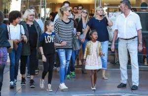 Heidi Klum : Maman stylée et détendue pour une virée shopping