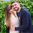 Guilherme Siqueira et sa compagne, enceinte - Photo publiée le 12 juin 2015