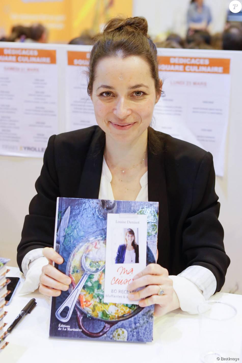 Louise denisot fille de michel denisot salon du livre for Salon a porte de versaille 2015