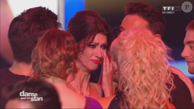 Sophie Vouzelaud éliminée de Danse avec les stars le 20 novembre 2015 sur TF1