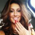 Sophie Vouzelaud : selfie pour la Miss