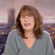 Jane Birkin évoque les attentats de Paris dans le journal télévisé de France 2, le 23 novembre 2015.
