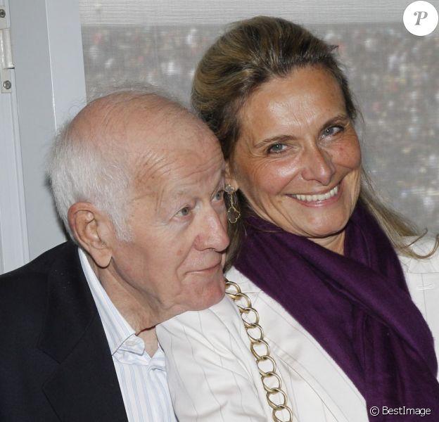 Jacques Chancel et sa femme Martine à Paris le 5 juin 2012.