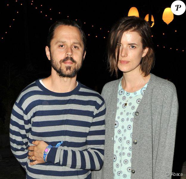 Agyness Deyn et Giovanni Ribisi au festival de Coachella à Indio, le 12 avril 2013