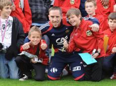 REPORTAGE PHOTOS : Franck Ribéry adore ses petits supporters !