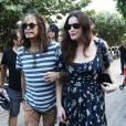 Steven Tyler et ses filles Mia, Liv et Chelsea et leurs amis à Miami, le 8 décembre 2013.