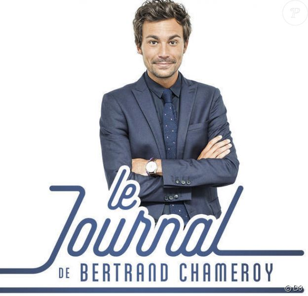 Bertrand Chameroy présente Le Journal de Bertrand sur D8, le jeudi 3 décembre 2015.