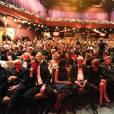 """Remise des prix lors de la 28ème cérémonie des """"European Film Awards"""" à Berlin, le 12 décembre 2015."""
