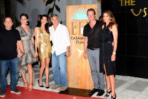 """Cindy Crawford, très fan d'Amal Clooney : """"George est réellement amoureux"""""""