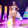 Miss Provence - Les cinq finalistes défilent, lors de l'élection Miss France 2016 le samedi 19 décembre 2015 sur TF1