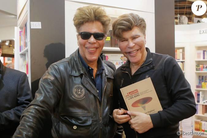 Igor et grichka bogdanov salon du livre la porte de for Salon du livre porte de versailles 2015