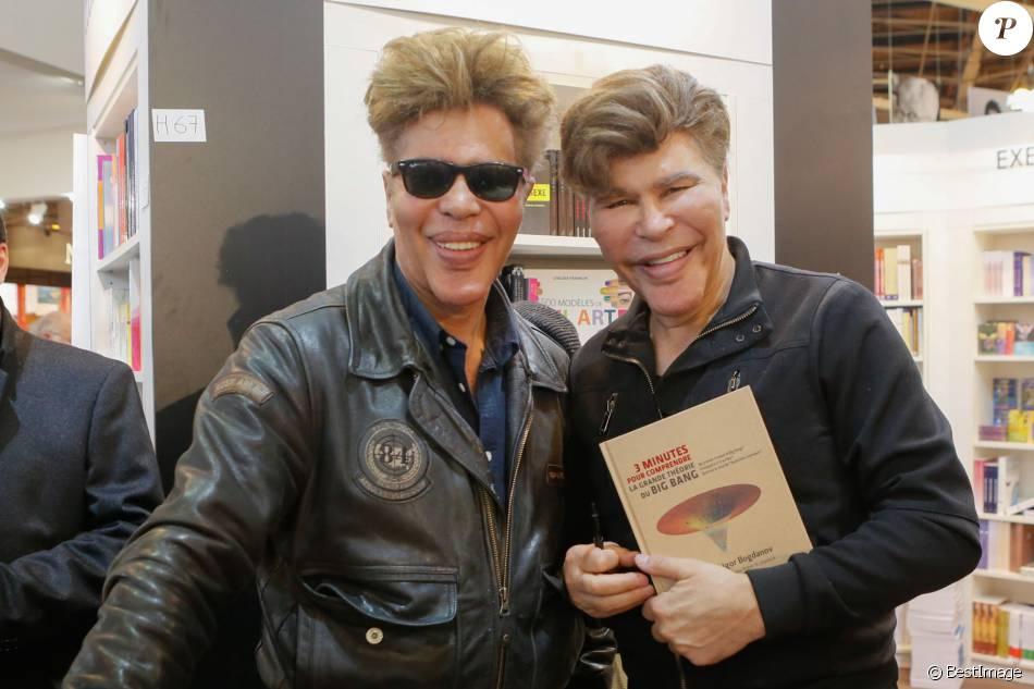 Igor et grichka bogdanov salon du livre la porte de versailles paris le 22 mars 2015 - Salon du livre porte de versailles 2015 ...