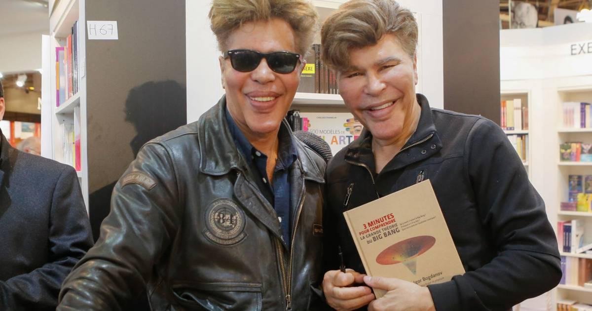 Igor et grichka bogdanov salon du livre la porte de - Salon du livre porte de versailles 2015 ...