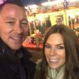 John Terry et sa femme Toni - décembre 2015