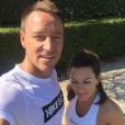John Terry et sa femme Toni - 2015