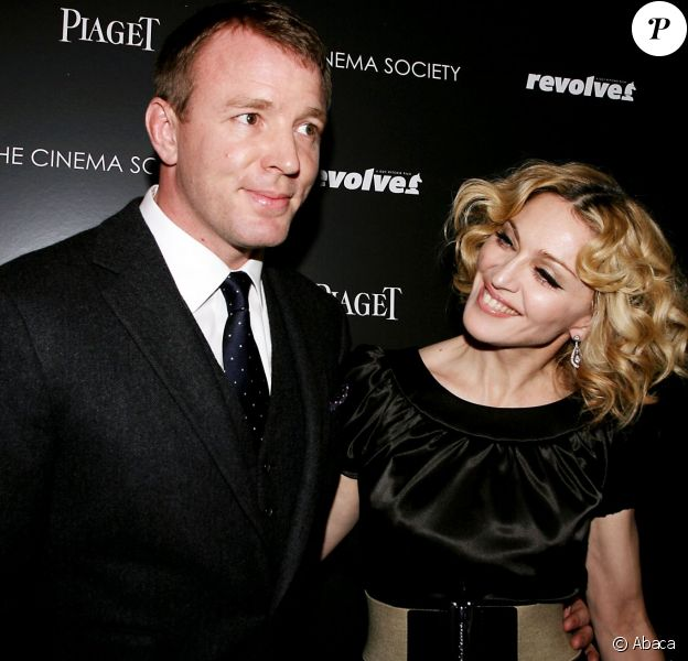 Madonna et Guy Ritchie à New York le 2 décembre 2007