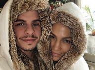 Jennifer Lopez et Casper Smart: Les amoureux, assortis, ont fêté Noël en famille