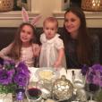 Harper, la fille d'Armie Hammer et Elizabeth Chambers fête son 1er anniversaire / photo postée sur Instagram, au début du mois de décembre 2015.