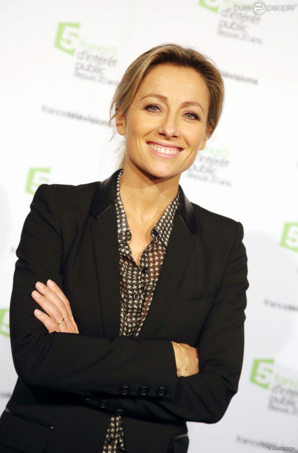 Anne-Sophie Lapix à la Cité de la mode et du design à Paris, le 27 novembre 2014.