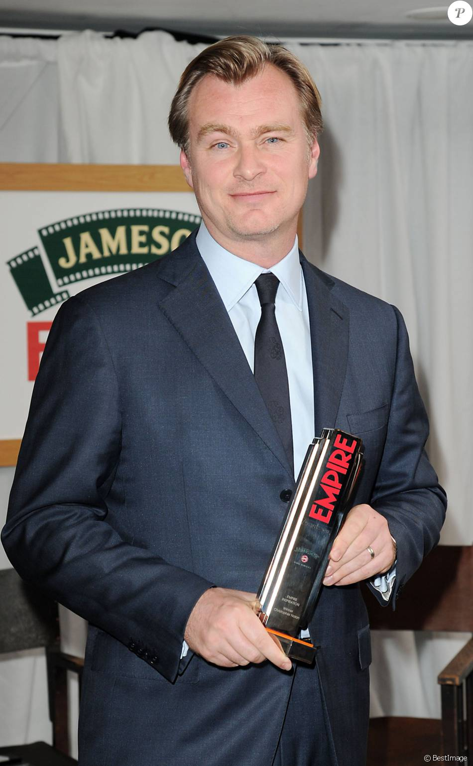 "Christopher Nolan - Soirée des ""Jameson Empire Film Awards 2015"" à Londres, le 29 mars 2015."