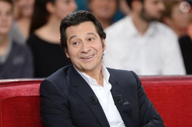 Laurent Gerra dans  Vivement Dimanche , le 21 octobre 2015.