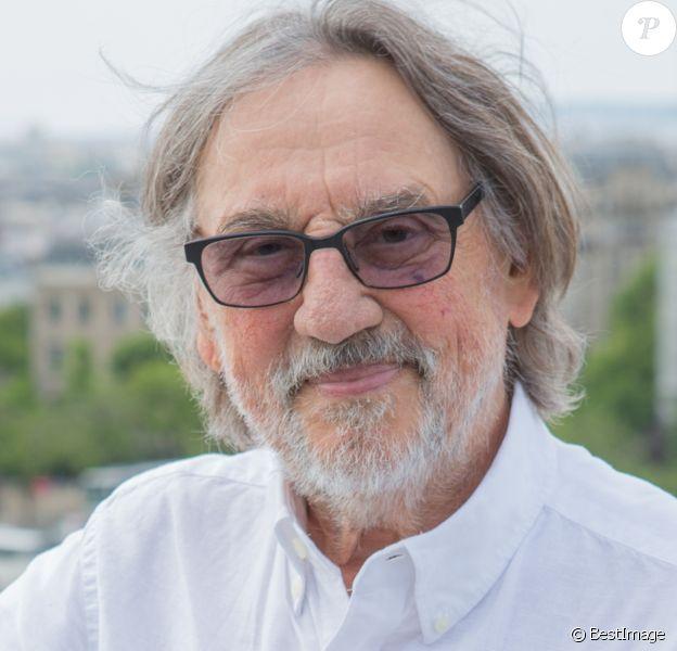 Exclusif - Vilmos Zsigmond sur la terrasse Publicis lors du 4ème Champs Elysées Film Festival à Paris le 14 juin 2015.