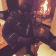 Maître Gims sans ses lunettes de soleil. Photo postée sur Instagram le 3 janvier 2015.
