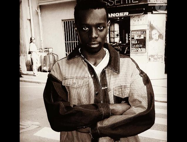 Maître Gims sans ses lunettes de soleil. Photo postée sur Instagram le 1er janvier 2015.