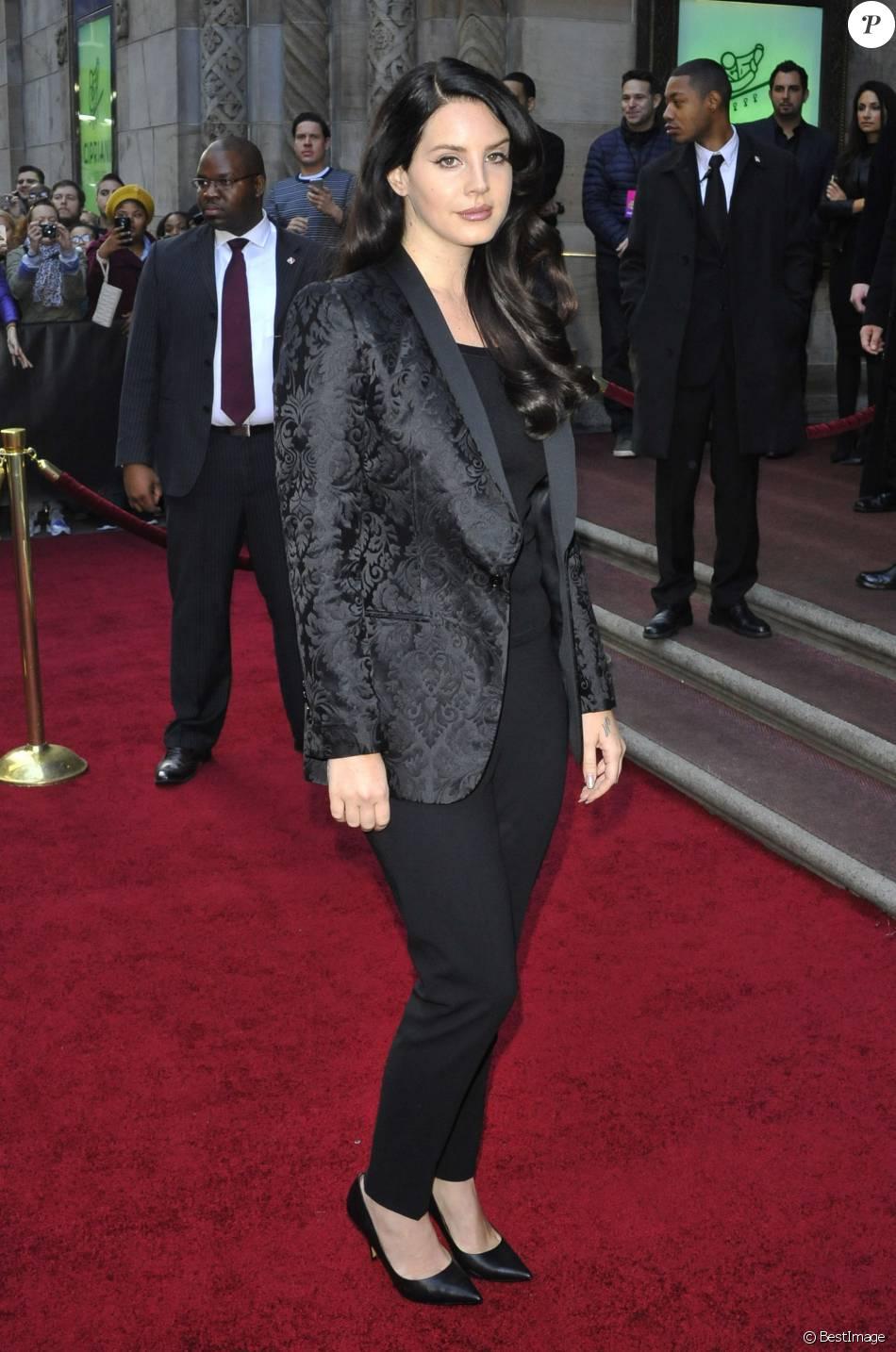 Lana Del Rey -  Soirée Billboard's 10th Annual Women In Music à New York le 11 décembre 2015.