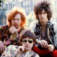 Eric Clapton, Jack Bruce et Ginger Baker du groupe Cream