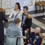 Princesse Mary : Sublime auprès de Margrethe et Frederik pour les voeux de 2016